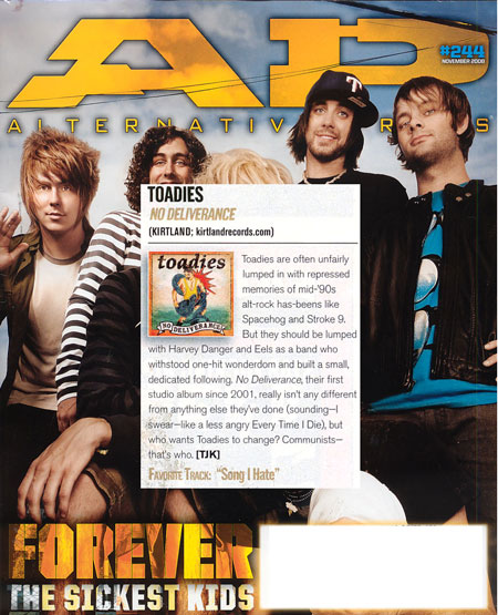 Alternative Press Nov. 08