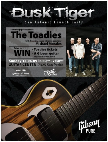 Guitar Center Flyer