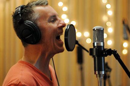 Vaden Todd Lewis in studio
