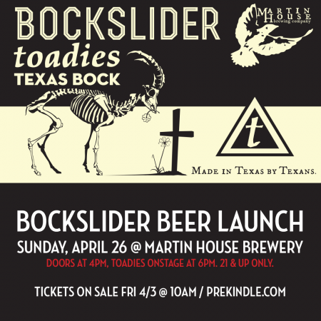 Bockslider Beer Launch