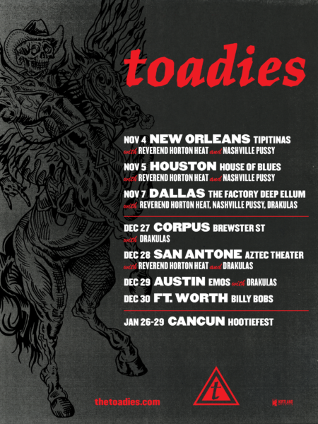 Toadies Tour Dates